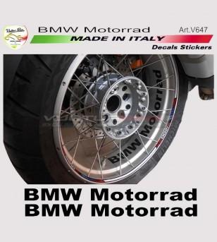 BMW Motorrad Wheel Sticker 2 Kit