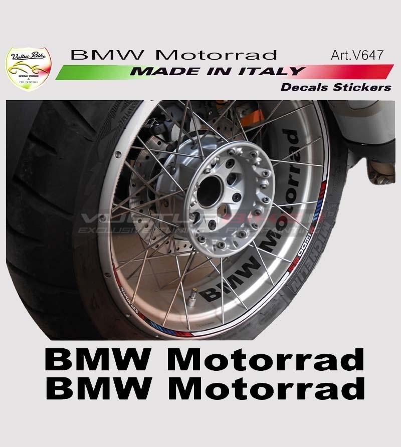 Kit 2 adesivi per ruote BMW Motorrad
