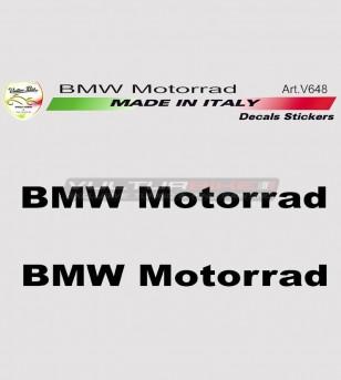 Kit 2 adesivi BMW Motorrad varie misure