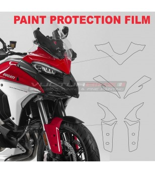 Protective ppf film for front fairing and mudguard - Ducati Multistrada V4