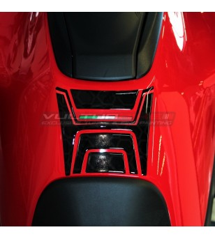 Protezione serbatoio resinata 3D - Ducati Multistrada V4