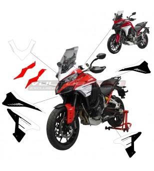 Kit completo adesivi pikes peak 2015 design - Ducati Multistrada V4 / V4S