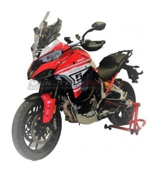 Kit completo adesivi Route Pikes Peak design - Ducati Multistrada V4 / V4S