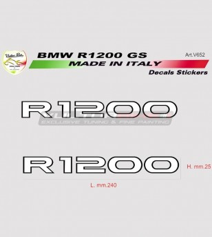 Stickers' kit for BMW R1200...