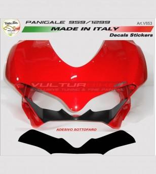 Pegatina bajo la luz - Ducati Panigale 899 / 1199 / 959 / 1299