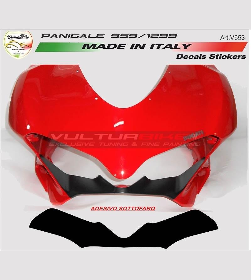 Under headlights stickers - Ducati Panigale  899 / 1199 / 959 / 1299