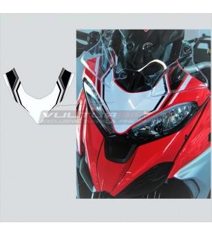 Custom stickers for overhead front fairing - Ducati Multistrada V4 / V4S
