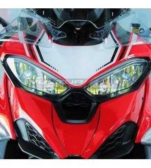 Adesivi personalizzati per cupolino soprafaro - Ducati Multistrada V4 / V4S