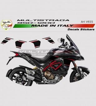 Kit adesivi per Ducati Multistrada 950/1200 DVT