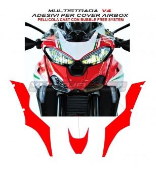 Pegatinas de cubierta de la caja de aire - Ducati Multistrada V4 / V4S