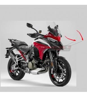 Perfiles adhesivos ajustados para cubiertas de caja de aire - Ducati Multistrada V4 / V4S