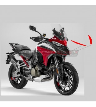 Amplios perfiles adhesivos para cubiertas de caja de aire - Ducati Multistrada V4 / V4S