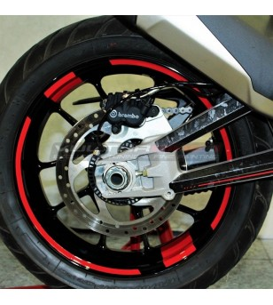 Customizable adhesive profiles for wheels - Ducati Multistrada V4