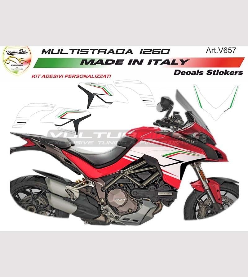 Adesivi Design Speciale - Ducati Multistrada 1260 / nuova 950 (2019)