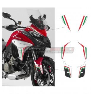 Kit adesivi tricolor stripe edition - Ducati Multistrada V4 / V4S