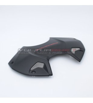 Original Ducati black battery cover - Streetfighter V4S