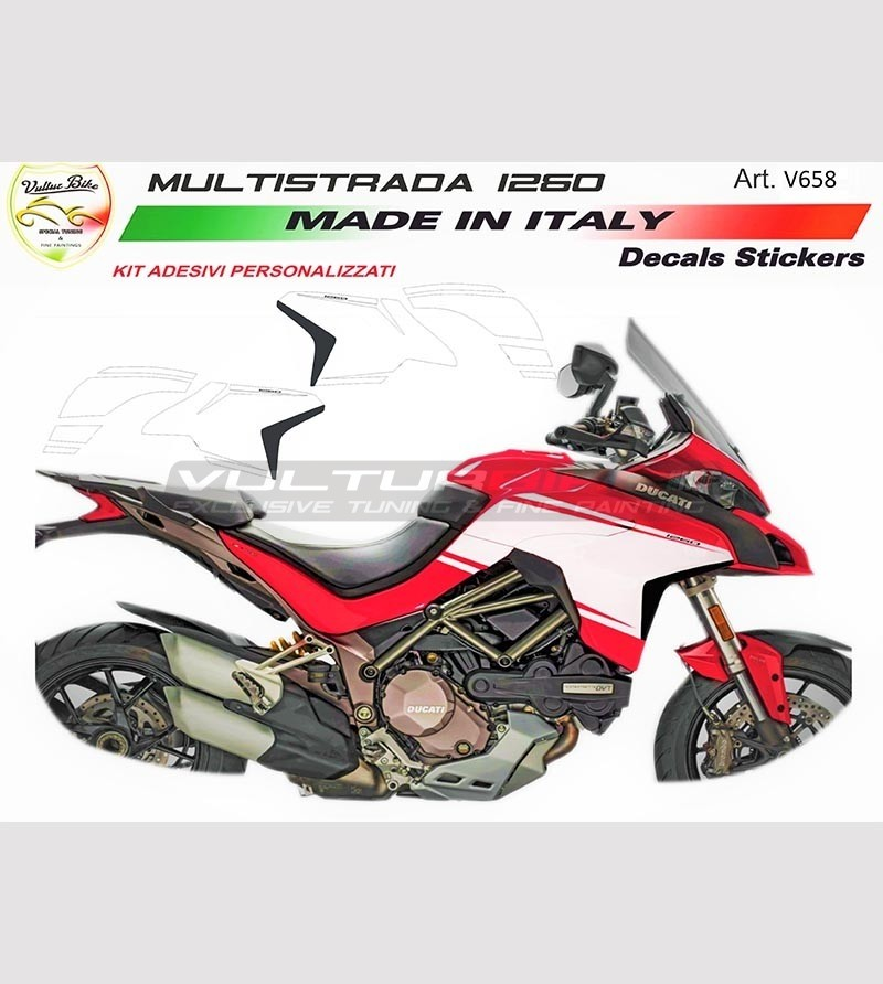 Stickers' kit for Multistrada 1260 new 950 customized design