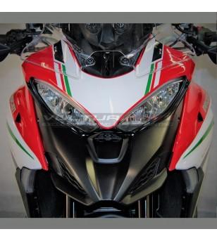 Front fairing stickers italian tricolor design - Ducati Multistrada V4 / V4S