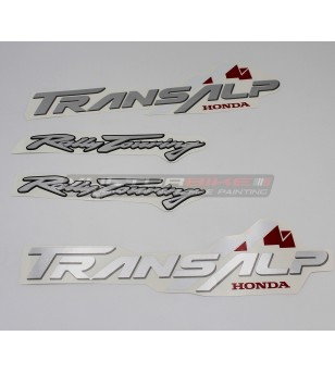 Stickers' kit for side fairings - Honda Transalp 650