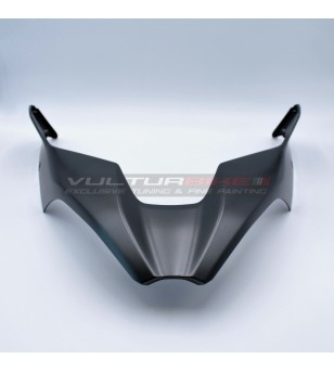 Original Ducati airbox cover painted - Ducati Multistrada V4 Aviator Grey