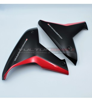 Paneles laterales originales de color rojo negro - Ducati Multistrada V4S