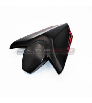 Cubierta del asiento del pasajero de fibra de carbono - Ducati Streetfigter V4 / V4S