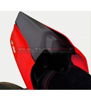 Couverture de selle passager en fibre de carbone - Ducati Panigale V4 / V2 / Streetfigter V4