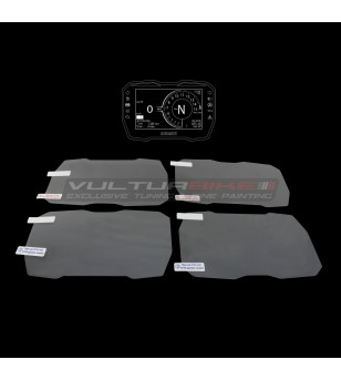 Instrument protection film kit - Ducati Panigale V4 / V4S / V4R / Streetfighter V4 / V4S