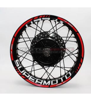 Supermoto Wheel Stickers -...