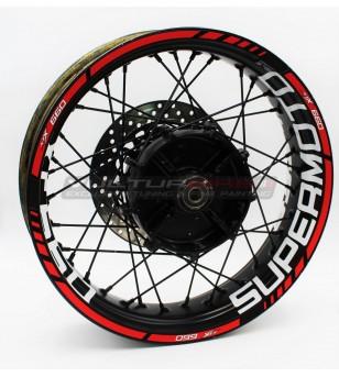 Supermoto Wheel Stickers - Yamaha XTX 660