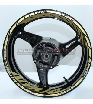 Autocollants de roue de conception de ninja - Kawasaki tous les modèles