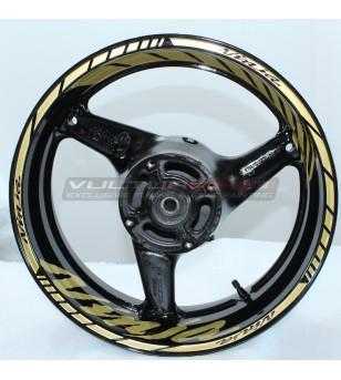 Ninja design wheel stickers - Kawasaki all models