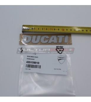 Étiquette Ducati...