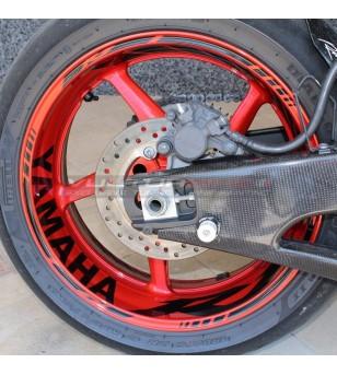 Anpassbare Aufkleber für Räder - Yamaha R1