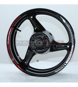 Pikes Peak design wheel...