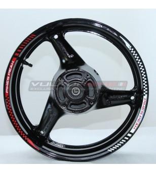 Autocollants de roue de conception Pikes Peak - Ducati Multistrada