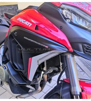 Paneles laterales originales de color gris negro - Ducati Multistrada V4 / V4S