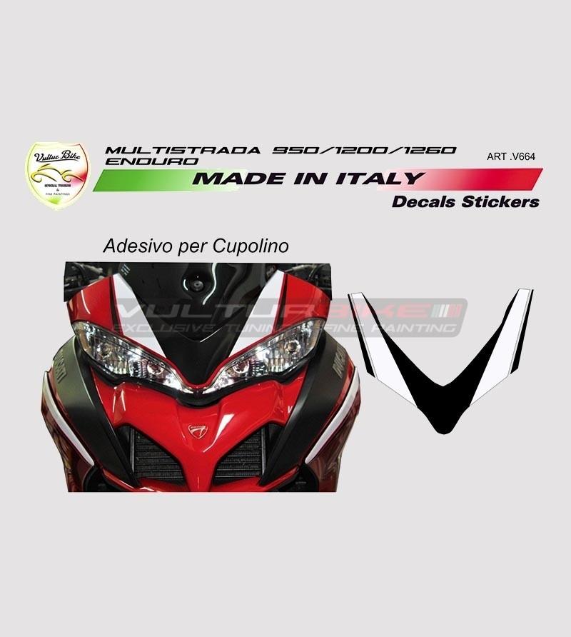 Adesivo per Cupolino Ducati Multistrada 950/1200/1260/Enduro