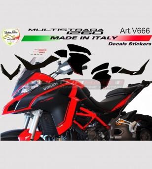 Kit adesivi per Multistrada 1260 design personalizzato
