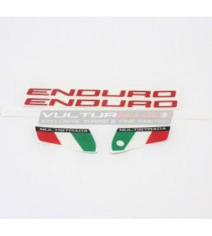 Adesivi per parafango - Ducati Multistrada 950 / Enduro