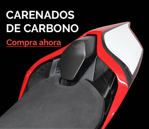 carenados de carbono originales para motos